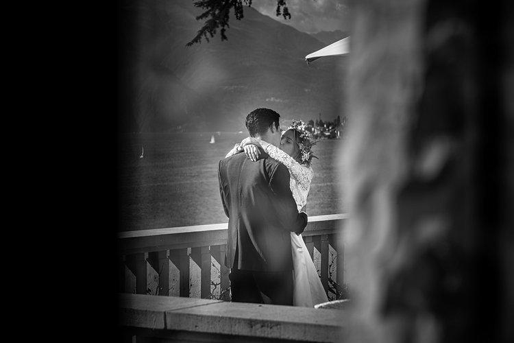 Matrimonio da favola sul lago di Como