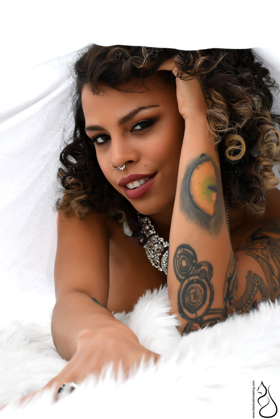 Photographer: Black Cat Modeling | MUAH: Melissa Abuil | Model: Ruby Noir