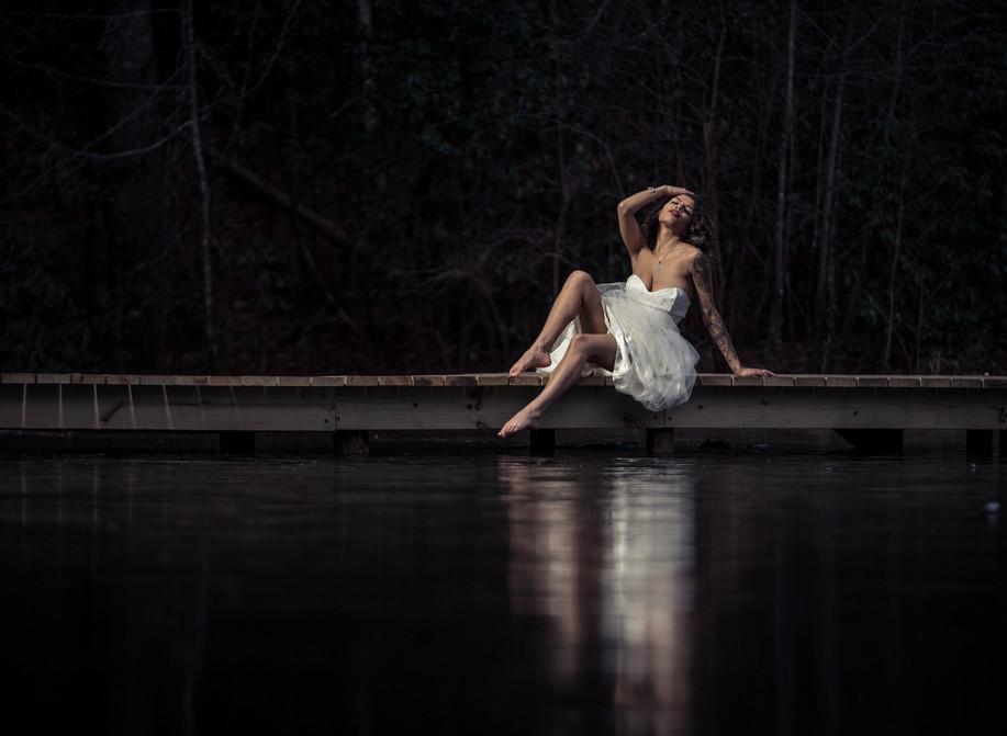 Photographer: Tom Moors | Wardrobe: Through the Looking Glass | MUAH/Model: Ruby Noir