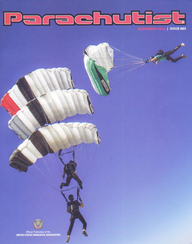Parachutist Magazine USA Canopy Crew Skydive