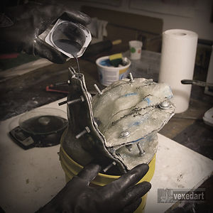casting resin edition | art sculpture cold casting