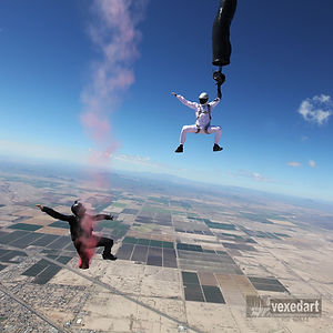 painting and skydiving at high altitude | Steve Curtis | Vedi Djokich | Jason Peters