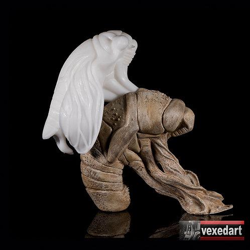 Birth & Death : Cicada Sculpture Art