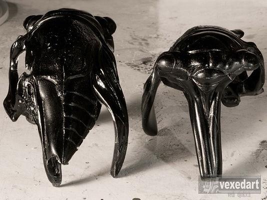 resin cast art sculptures | insect art