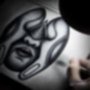 pen artist detailed art made with pen