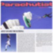 Parachutist Magazine publication skydive artist