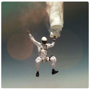 Painting the sky in freefall.  Skydive art