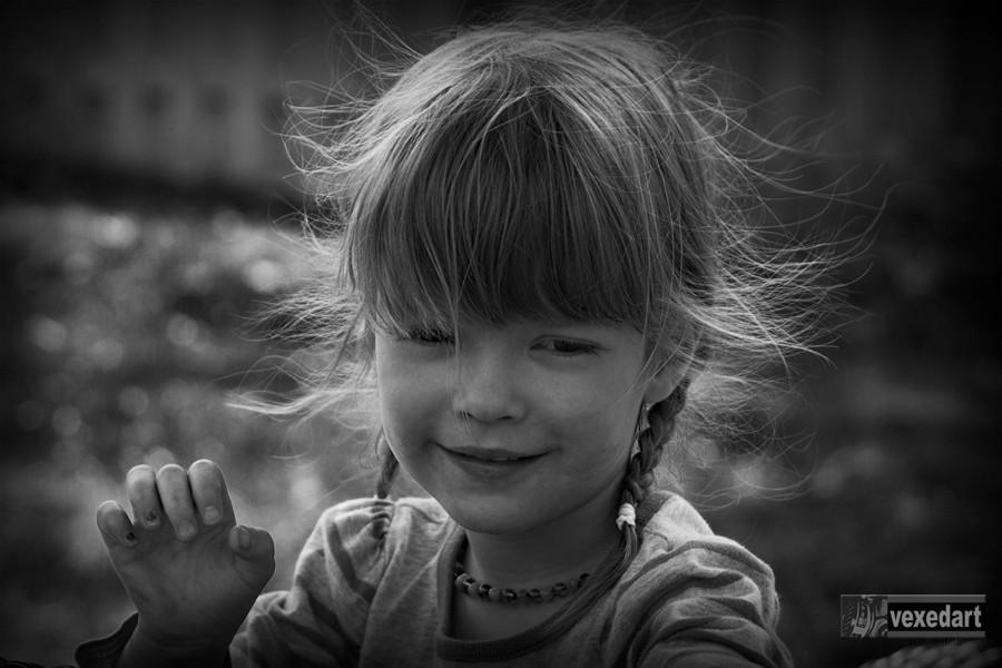 child portrait, kid photography