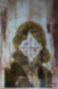 Blood Art portrait human blood art scree