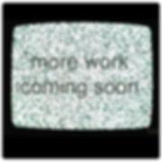 tv gif, fuzzy television set
