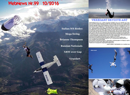 90 Percent Italian Skydive Magazine Publication