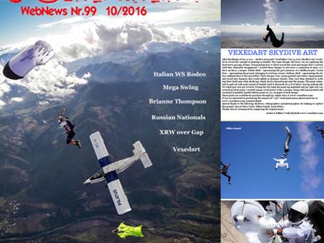 90 Percent Italian Skydive Magazine Publication