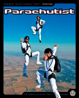Skydive Magazine Parachutist