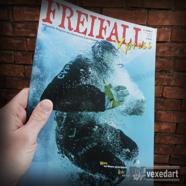 Greman skydive magazine | freifall xpress publication