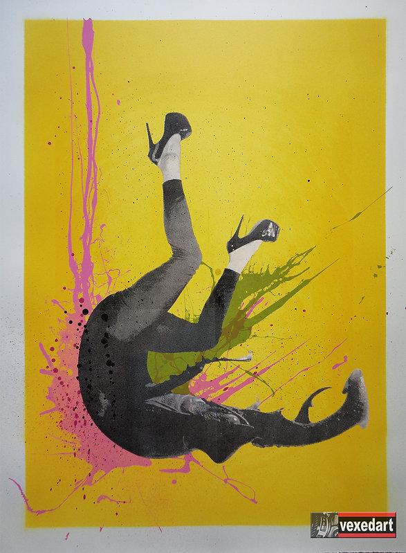 Anthropomorphic Art Print Insect Human S
