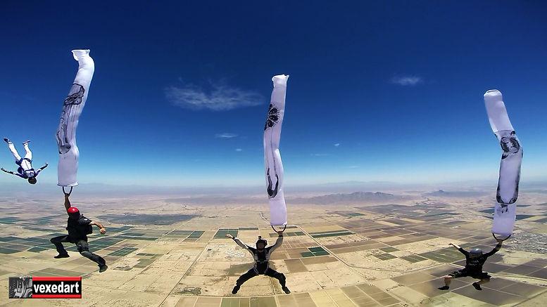 Adrenaline Art Skydive Art Exhibition in