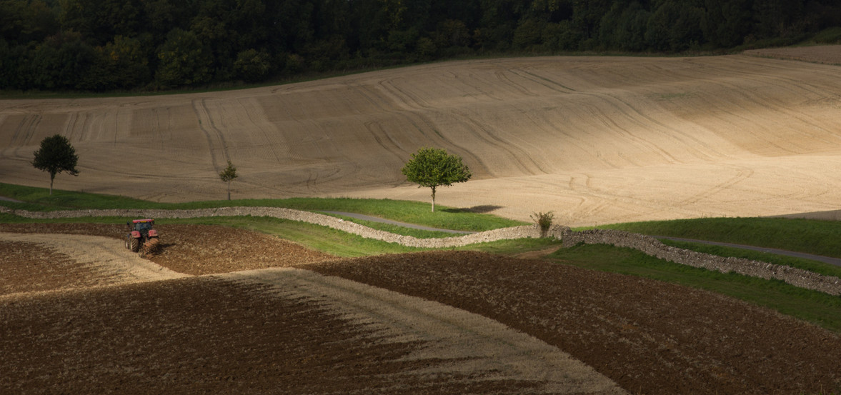 Ploughing, England