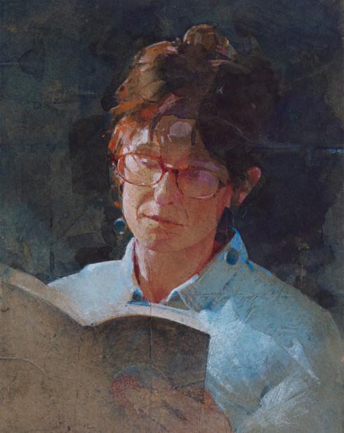 Cheryl reading