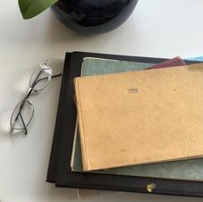 Theo's  sketch- books.
