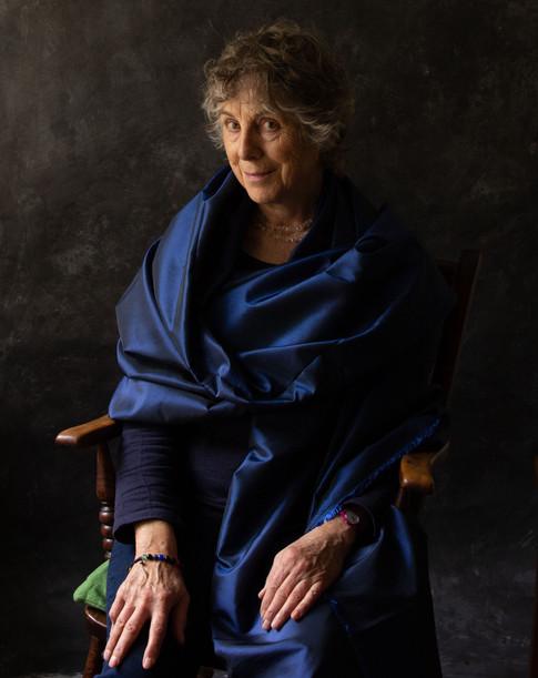 Mary, printmaker & yoga teacher