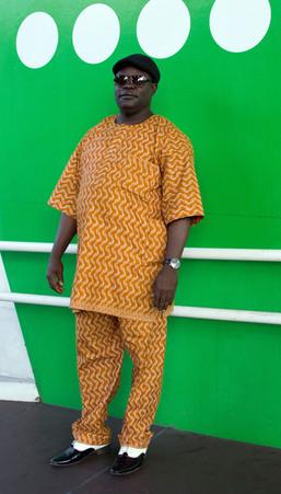Man in Orange, Peckham