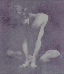 Crouching nude (2)