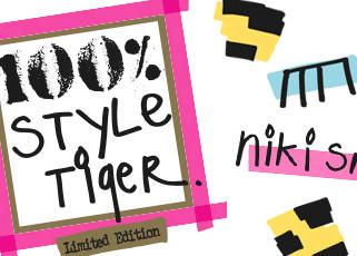 Niki Smit lanceert 100% Style Tiger parfum