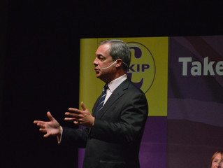 Day 13: An Audience With Nigel Farage