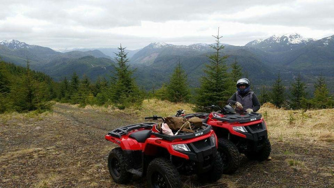 Rent an ATV this fall and experience blacktail deer hunting at its finest on POW!