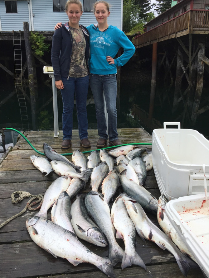 Happy customers found the fish!