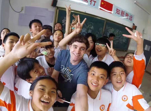 Teaching English in China-A Career Unexpected But  Continued with love
