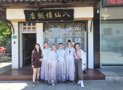 Throwback to Chinese history-Aupair Cultural Trip to Zhujiajiao with Han Costume
