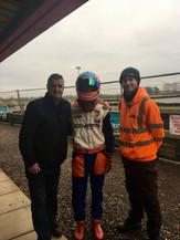 Martin Donnelly Former F1 Driver visits RLK