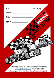 Kids birthday parties at Red Lodge Karting