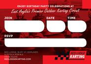 Kids Birthday parties at Red Lodge Karting
