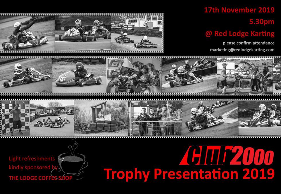 Club2000 Trophy presentation notice 2019