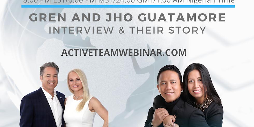 GFDW Invites Greny and Jho Guatamore - Max International Triple Diamond