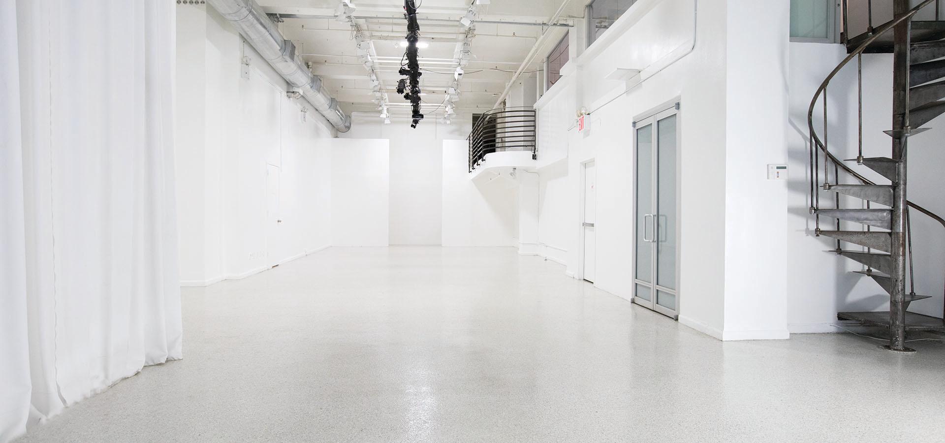 Main Studio facing North