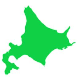 北海道の地図画像