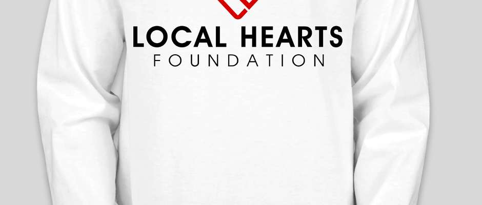 Local Hearts Foundation - Long sleeve shirt