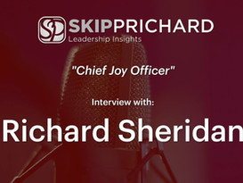 How to Lead with Joy with Richard Sheridan