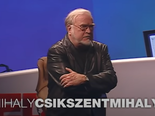 TED Talk - Mihaly Csikszentmihalyi - Flow - 2004