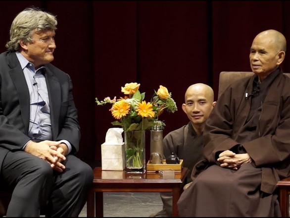 Stanford University CCARE with ThiCh Nhat Hanh and James Doty, MD