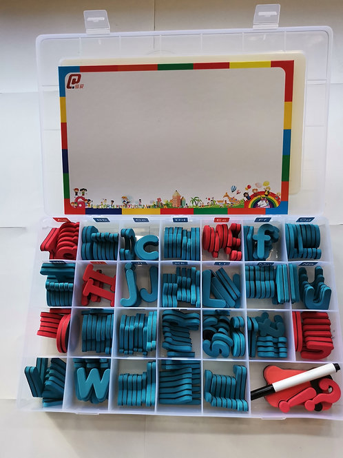 Soft foam alphabets (Upper and Lower case) with magnet