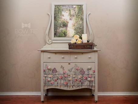"""Bazine""—Antique Dresser"