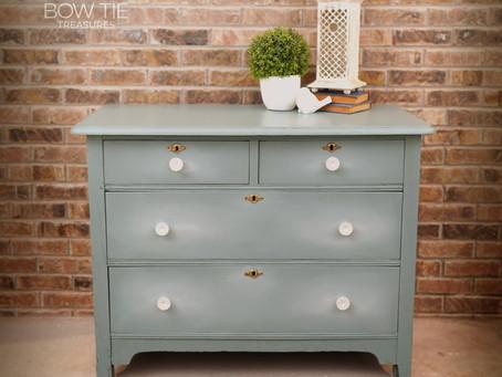 """Lillie""—Antique Low Dresser"