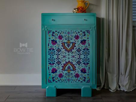 """Elaine""—Vintage Cabinet"