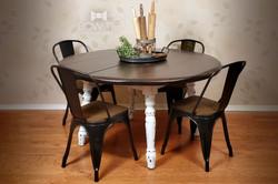 Lori-Ann-Round-Farmhouse-Table-Set