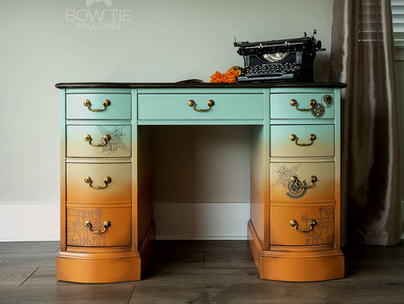 """Cheer""—Antique Desk has gone Steampunk style"