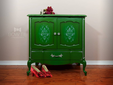 """Dorothy""—Vintage Record Cabinet"